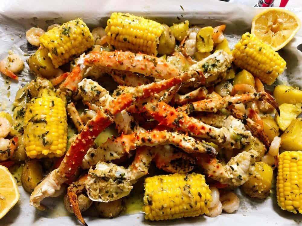 crab platter recipe