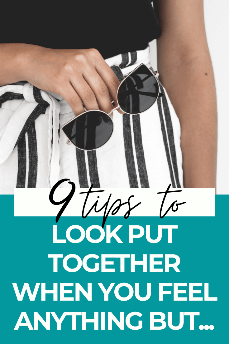 How to look put together and polished quickly