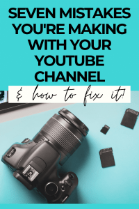 7 painful youtube mistakes you're making growing your YouTube channel