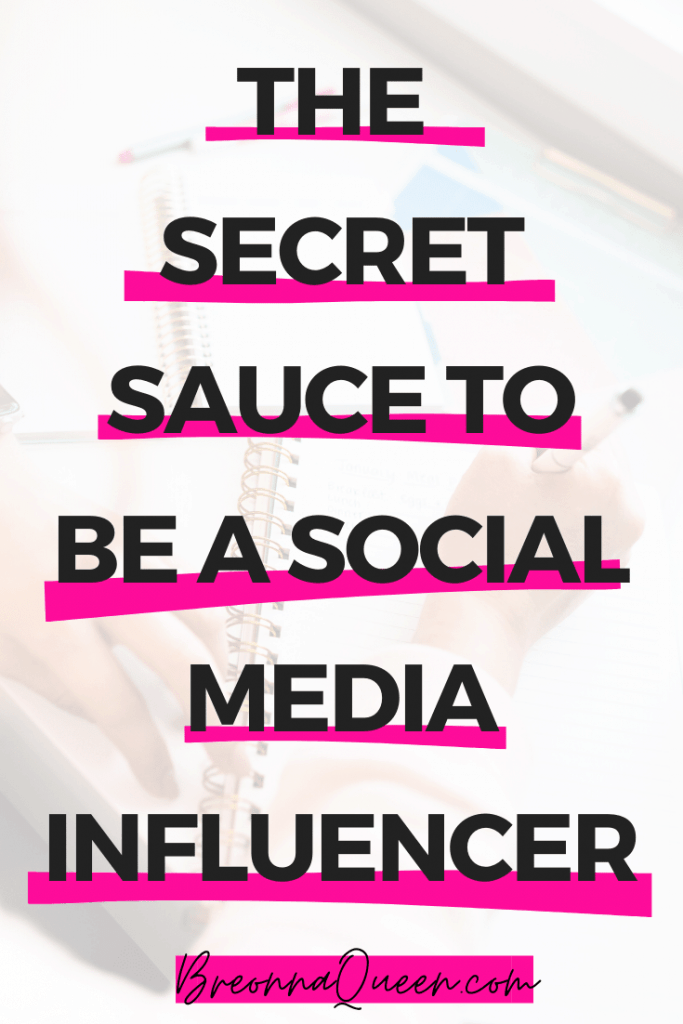 The secret sauce to become a social media influencer: 6 awesome tips