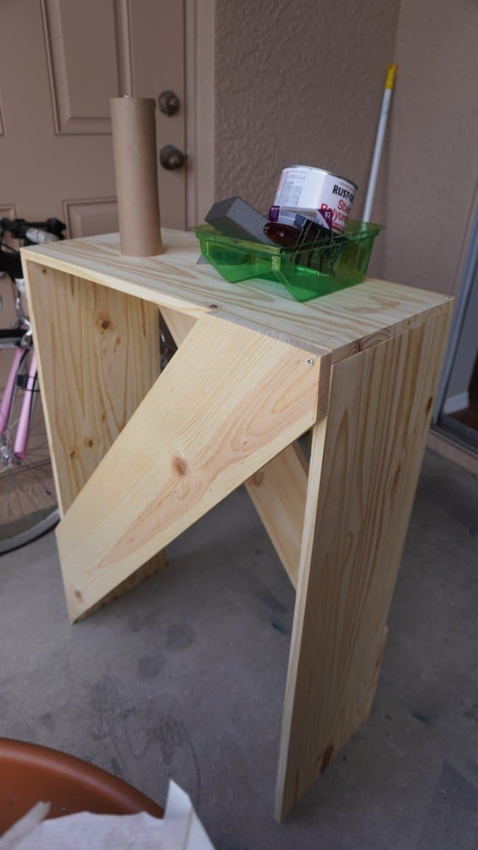 Easy DIY Console Table for under $35