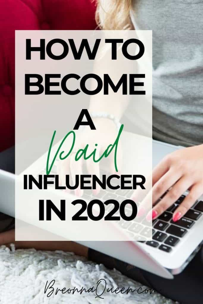 how to become an influencer 2020
